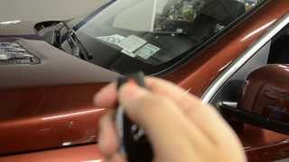 How To Start your Mercedes-Benz GL450 with Panic Button - Remote Start!
