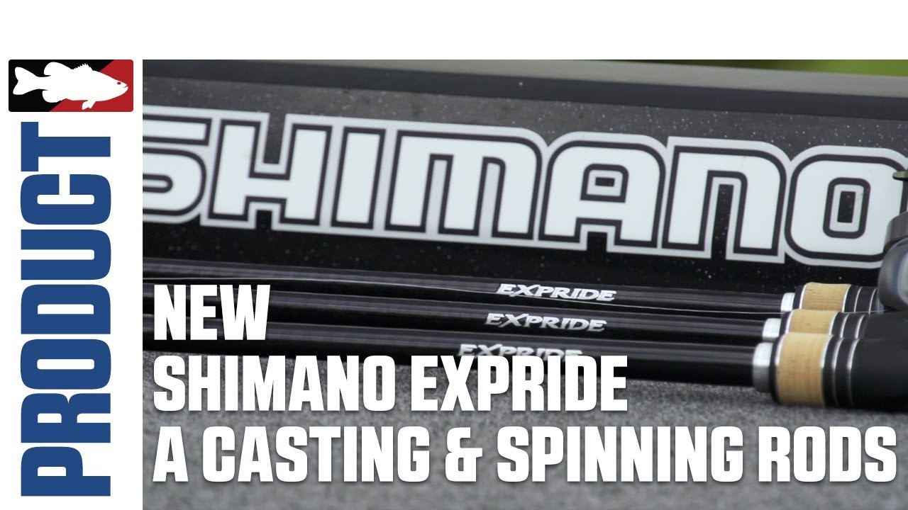 New Shimano Expride A Rod Models with Jared Lintner and Alex Davis