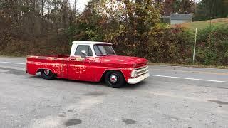 1965 c10 Bagged patina truck