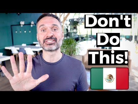 5 Mistakes NOT to Make in Mexico City 🇲🇽CDMX Travel Tips