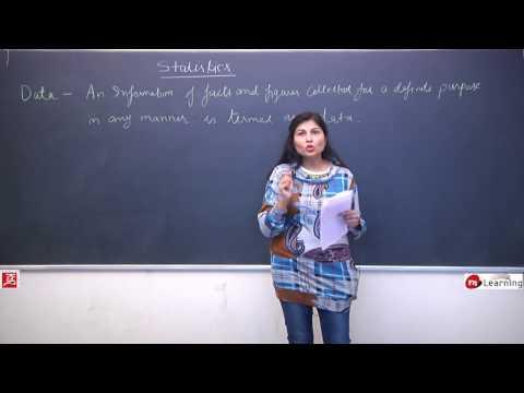 Statistics: What Is Data & How Statistics Was Born ? - STD IX - 01/17