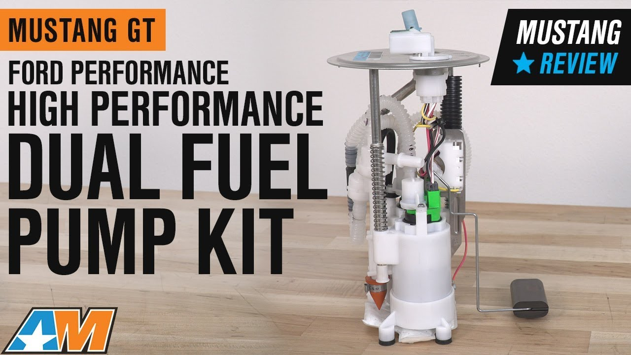ford performance mustang high performance dual fuel pump kit m 9407 gt05 05 09 gt  [ 1280 x 720 Pixel ]