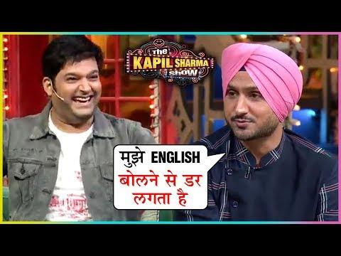 Kapil Sharma's FUNNY CHAT With Harbhajan Singh & His Wife Geeta Basra | The Kapil Sharma Show