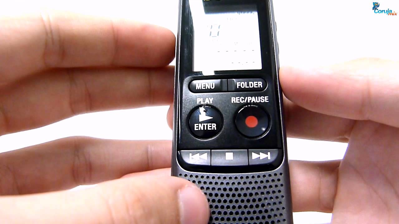 mini gravador digital de voz sony icd px240 youtube rh youtube com Gravador Gifs Gravador E621
