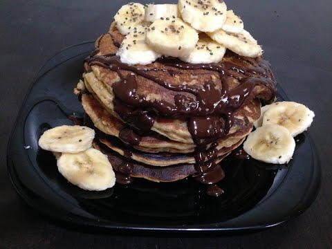 recette-healthy-pancakes,-facile,-délicieuse-et-rapide//بنكاك-صحي