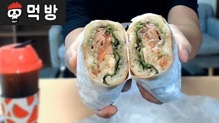 【다이어트 먹방】 삼국지 오나라 이야기 & 카페정식