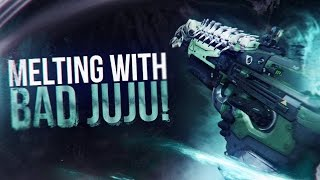 Destiny: MELTING WITH THE BAD JUJU! CRUCIBLE HIGHLIGHTS