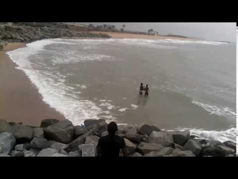 The Atlantic ocean Benin republic (cotonou)