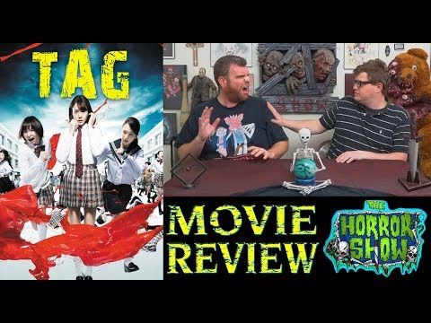 """""""Tag"""" 2015 Japanese Horror/Thriller Movie Review – The Horror Show"""