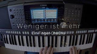 YAMAHA PSR-S970 Workshop 103 - Weniger Ist Mehr (Ein-Finger-ChaCha)