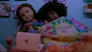 how our nights go american girl doll stopmotion