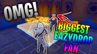 he found out I was EazyDrop after I scammed him... 🤣 (Scammer Gets Scammed) Fortnite Save The World