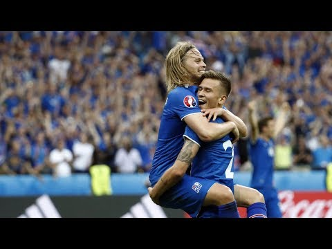 England vs Iceland 1 - 2 The best moments (Euro 2016)
