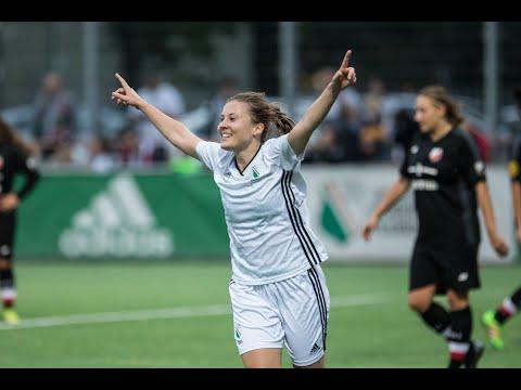Gole z meczu Legia Ladies - Polonia Warszawa