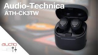 Audio-Technica ATH CK3TW Los nuevos True Wireless del que todos hablarán.