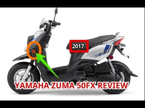 2017 YAMAHA ZUMA 50FX REVIEW