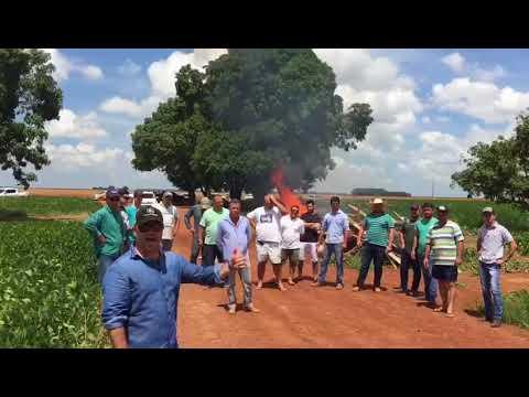 """Fazendeiros evitam invasão de sem terras e vídeo """"bomba"""" nas redes sociais"""
