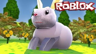 ROBLOX-I turned the Easter Bunny (House Pets)