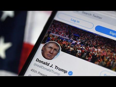 Twitter suspende la cuenta de Trump