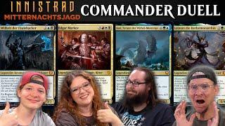 MTG Commander Multiplayer Match 43 | Magic the Gathering deutsch | Innistrad Midnight Hunt | Trader