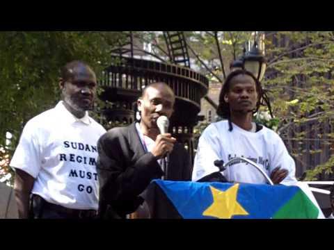 Sudan Regime Change Rally:  Amin Zakaria