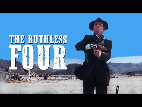 The Ruthless Four | COWBOY FILM | Free Western Movie | Spaghetti Western | English