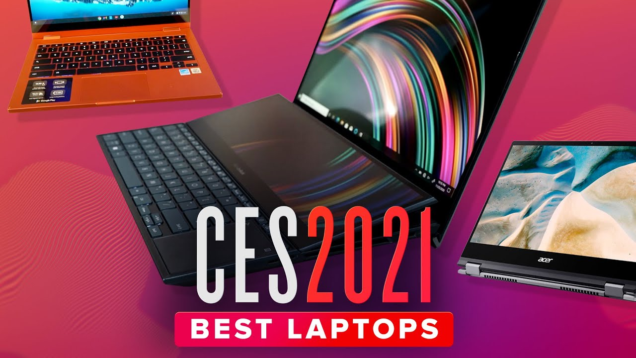 From dual-screen prototypes to kid-proof Chromebooks, take a hands-on look at the most interesting new laptops and tablets from CES 2021. Dell's Latitude, As...
