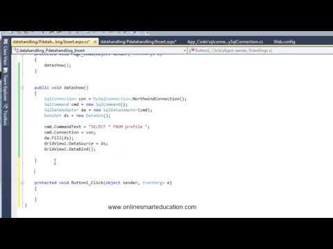 C# Tutorials in Tamil Part - 67 Insert Record part - 2