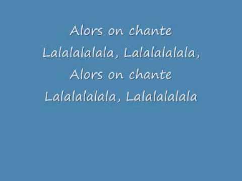 Stromae - Alors On Dance (Lyrics)
