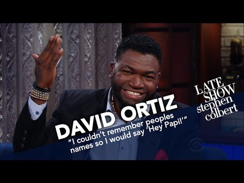 David Ortiz Spoke From The Heart After The Boston Marathon Bombing