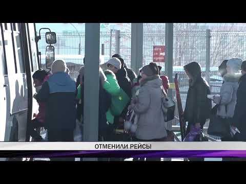 Больше 60 пригородных и междугородних рейсов отменены на автовокзале Нижнего Тагила из-за морозов