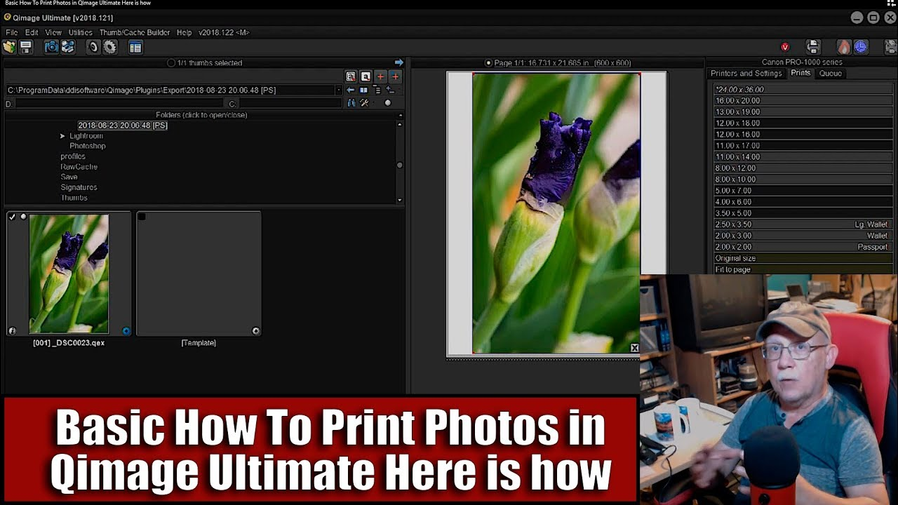 Basic How To Print Photos in Qimage Ultimate Here is how ...