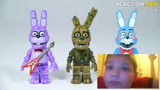 FNAF Springtrap with Security Office | McFarlane Toys LEGO compatible FNAF… – REACTION.CAM