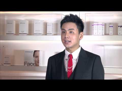 Dr Vincent Wong recommends Slendertone Face