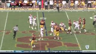 2013 Utah vs. USC - 5 Sacks