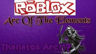 ROBLOX| Bogen des Elements | Thanatos bogen!?