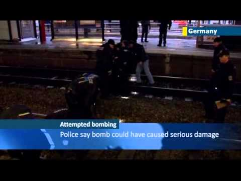 Bonn Bomb Scare: bag containing explosives left at train station in German city