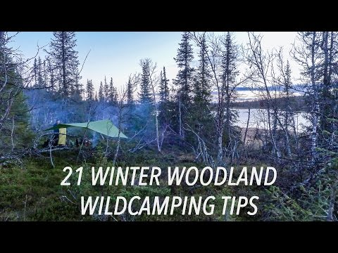 21 Winter Woodland Wildcamping Tips For Bushcrafters