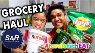 S&r Grocery Haul Ang Mura!!! | Cheat Day With Jay #24