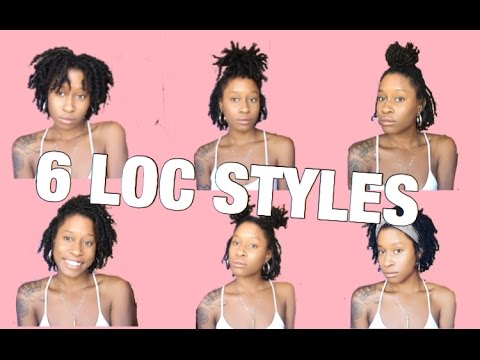 6 EASY Hairstyles For Starter Locs
