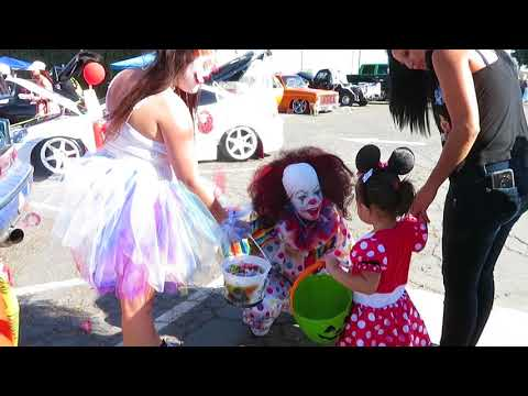 Trunk or Treat car show in Modesto CA Team NVUS 2017