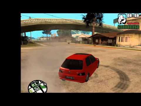 Peugeot 106 GTI MOD Gta San Andreas [ HD ] + Download