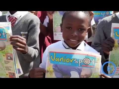 MCA Wajeff Joins Pupils At St John's School To Launch Nation Media Group Children's Magazine Juniors