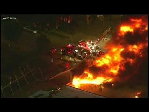 Gov. Walz to announce response to violence, safety concerns as fires burn in Minneapolis, St. Paul