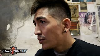 Leo Santa Cruz confirms dad will be in corner. Wants unification w/Selby or Russell w/Frampton win