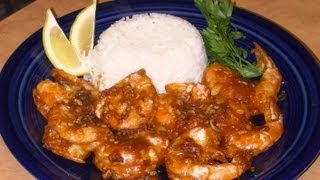 Street Food - Hawaiian Garlic Shrimp