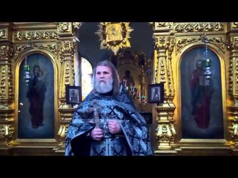 Почему Алексей человек Божий? Проповедь. 30.03.2015 г.