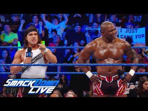 Chad Gable & Shelton Benjamin demand justice: SmackDown LIVE, Jan. 9, 2018
