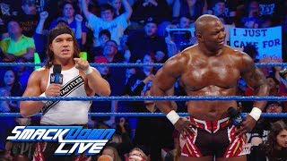 Chad Gable & Shelton Benjamin demand justice: SmackDown LIVE, Jan. 9, 2018