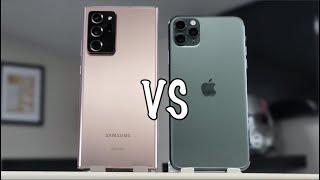 Galaxy Note 20 VS iPhone 11 Pro MAX el ESPERADO